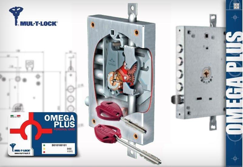 Κλειδαριά Omega Plus